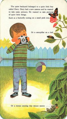 My Camera Book; by Kathleen N. Daly, Pictures by J.P. Miller. 1967. via Ward Jenkins.
