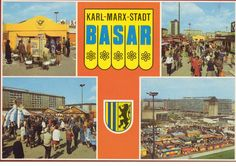 Basar Karl-Marx-Stadt, DDR