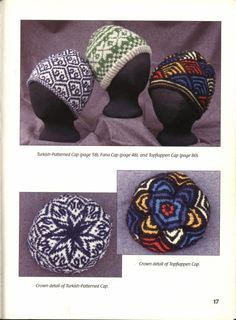 [Knitting books] Hats on