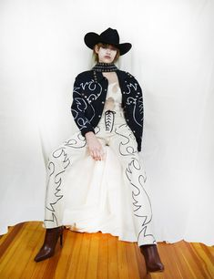 This Lady Gaga–Approved Designer Makes Bustiers out of Old Cowboy Boots - Vogue Cowboy Girl, Cowgirl Style, Cowgirl Bling, Cowgirl Chic, Bustiers, Gaucho, Lady Gaga, Fashion 2018, High Fashion
