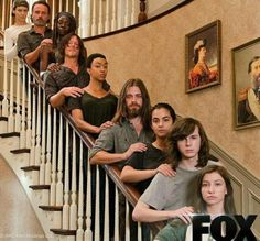 Haha I love this cast! Walking Dead