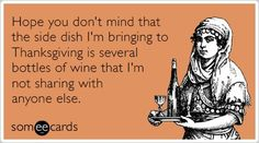 Thanksgiving Someecards