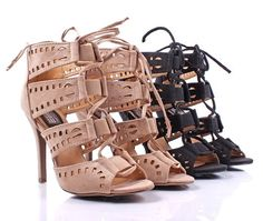 Strappy heels I'm drooling