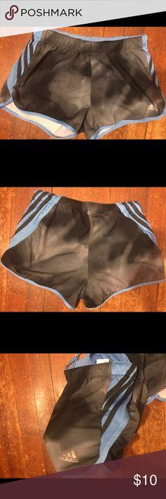 Women's Adidas running shorts Great condition adidas running shorts in a cute gray and black combo! adidas Shorts