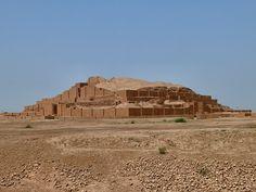 Ziggurat by dynamosquito, via Flickr  The elamite ziggurat of Tchogha Zambil, province of Khuzestan, Iran, April 2008