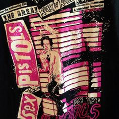 Rare Vintage Sex Pistols film graphic tee in ASofterApproach's Etsy store!