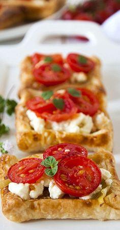 Tomato Feta Tarts