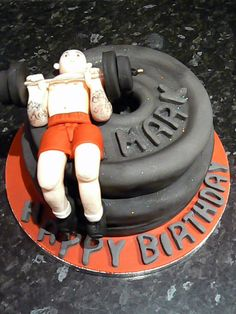 1000 Images About Birthday Cake Ideas On Pinterest Gym