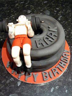 Muscleman cake Cake by vanillasugar