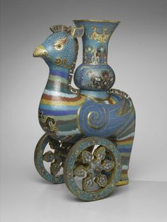 xx..tracy porter..poetic wanderlust...- Ceremonial Wine Vessel on Wheels China, 18th century The Brooklyn Museum
