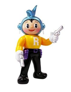 Rocket Boy figure by Itokin Park X Mirock Toys, produced by Palette Toy.