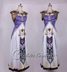 The Legend of Zelda Princess Zelda  Cosplay Costume made in any size