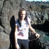 """#Concorso #GreenMarathon Tappa 2 Viaggia #Green. Jessìca: """"#Lanzarote una bella passeggiata tra il #vulcano e il fiume verde"""""""