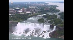 Beautiful Canada Wonderful Niagara Falls Aerial View Ontario