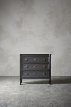 The DAWSON Chest of Drawers - in Charcoal - Swooneditions.com