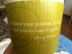 Oprah Starbucks Quotes
