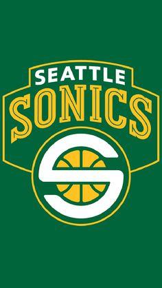ae1b6dfbec6 Seattle Supersonics Alternate Logo on Chris Creamer s Sports Logos Page -  SportsLogos. A virtual museum of sports logos