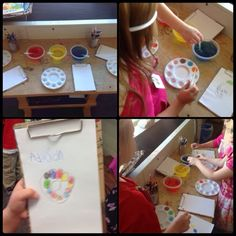 The kids have been exploring color for the past couple of weeks. It started out with a color mixing provocation set out at the beginning of ...