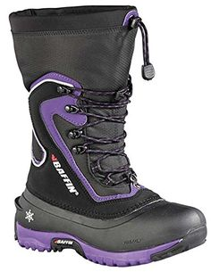 Baffin LITEW004 Womens Flare Boots BlackPlum  5 -- Read more reviews of the product by visiting the link on the image.