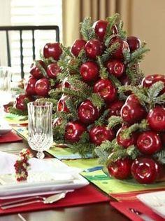 centros de mesa de navidad. Centros de Mesa Navideños #navidad #christmas #inspiration