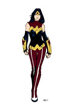 Wonder Woman I really like this costume.