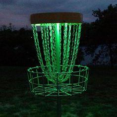 Disc Golf Basket LED Lights - Shop Glow In The Dark Sports Equipment | – GlowCity LLC