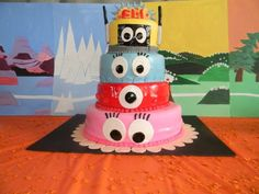 Cake at a YoGabbaGabba party #yogabbagabba #cake
