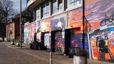 Urban art nahe des Park Fiction St. Pauli   urban art near Park Fiction in St. Pauli area   23/02/15