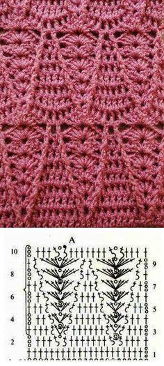 Watch This Video Beauteous Finished Make Crochet Look Like Knitting (the Waistcoat Stitch) Ideas. Amazing Make Crochet Look Like Knitting (the Waistcoat Stitch) Ideas. Crochet Motifs, Crochet Diagram, Crochet Stitches Patterns, Crochet Chart, Love Crochet, Knitting Stitches, Crochet Designs, Crochet Lace, Stitch Patterns