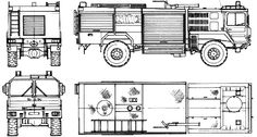 Man Fire Truck Line Drawing Rescue Vehicles, Camper Ideas, Fire Trucks, Line Drawing, Floor Plans, Tobias, Rigs, Vintage Cars, Armored Vehicles
