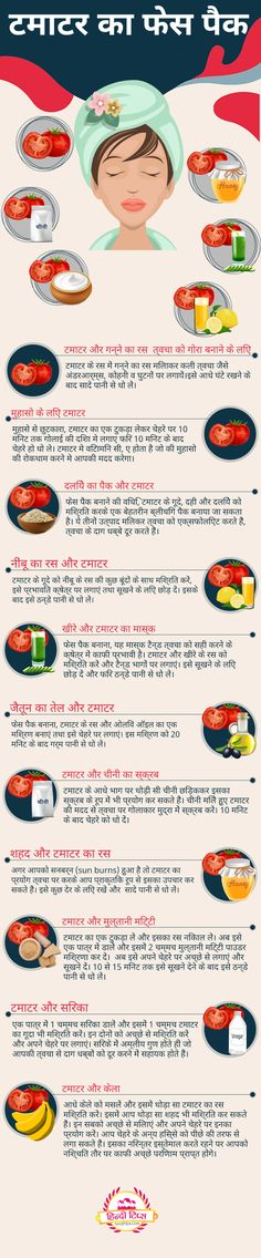 Tomato face packs in Hindi - टमाटर का फेस पैक Tomato For Skin, Tomato Face, Homemade Beauty Tips, Skin Problems, Beauty Hacks, Diy, Beauty Tricks, Bricolage, Beauty Dupes