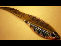 Zonker tube bait fly tying instructions for fly fishing, spinning and baitcast - YouTube