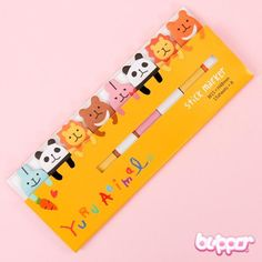 Kawaii Note Sticker - Animals