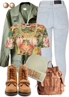 """Follow me on Twitter: Scrillamaine"" by annellie ❤ liked on Polyvore"
