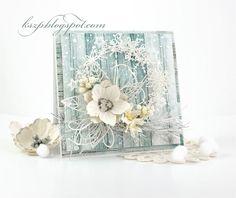 Wild Orchid Crafts: White wreath