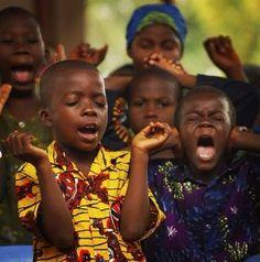 Nothing like child like praise and faith