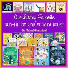 """In this post, you will """"meet"""" some of our favorite non-fiction and activity books and you will always have a chance to invite them into your home, too."""