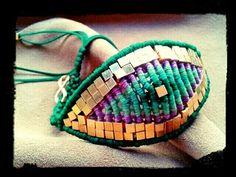 Ioana's macrame bracelet