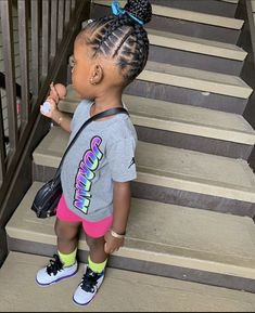 Cute Little Girls Outfits, Kids Outfits, Cute Outfits, Cute Kids Fashion, Little Girl Fashion, Cute Black Babies, Baby Family, Boy Hairstyles, Family Goals