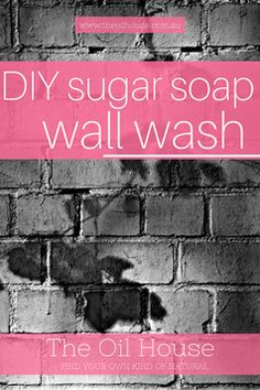 Are your walls in need of a refresh? Get your interior or exterior walls clean with this easy sugar soap recipe perfect for a DIY wall wash. With the addition of essential oils, your walls will smell clean, fresh and amazing! Diy Car Wash, Car Wash Soap, Homemade Cleaning Products, Natural Cleaning Products, Cleaning Walls, Cleaning Tips, Green Cleaning, Spring Cleaning, Sugar Walls