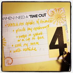 """Fairview Place: Day 4: When I need a """"Time Out"""""""