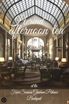 Herend Afternoon Tea at the Four Seasons Gresham Palace, Budapest | Ladies What Travel