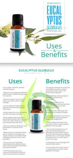 I like this  Eucalyptus Important Oil (Globulus) - Makes use of and Advantages