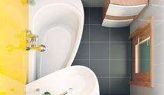 Экономичное решение небольшой ванной комнаты