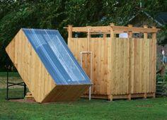 5 DIY Outdoor Solar Shower Ideas