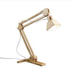 Wooden Desk Lamp /// No.3