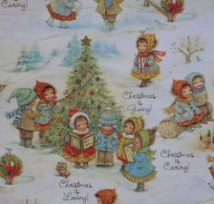Vintage Hallmark Juvenile CHRISTMAS Gift by MidCenturyAddiction, $4.95