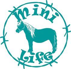 Horse Life Barb Wire Animal Farm Car Truck Trailer Window Vinyl - Barb wire custom vinyl decals for trucks