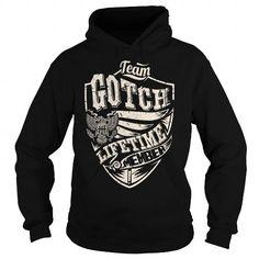Cool Last Name, Surname Tshirts - Team GOTCH Lifetime Member Eagle T shirts