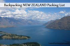 Backpacking New Zealand Packing List #travel #packing #list via TravelFashionGirl.com
